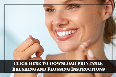Flossing Instructions